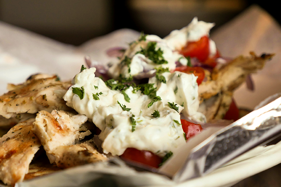 CHICKEN OR LAMB GYRO